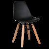 כסא איימס לילדים - שחור