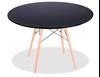 """שולחן איימס 70 ס""""מ שחור"""