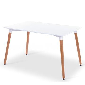 שולחן 80X120 לבן