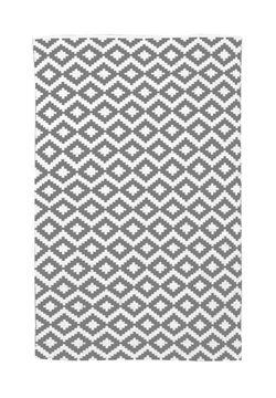 שטיח כותנה אוריאנטלי אפור