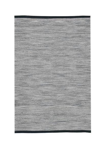 שטיח כותנה ירוק-אפרפר