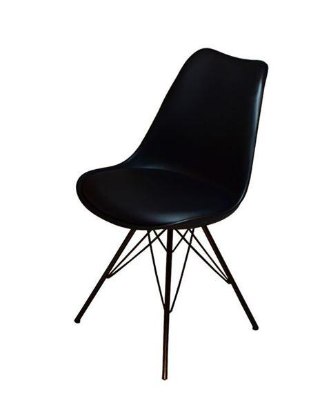 כסא E-Soft - שחור