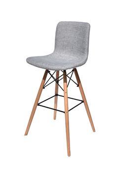 כסא בר EFLOW מרופד