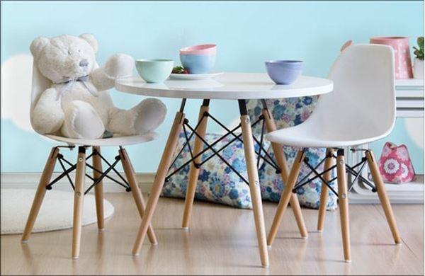 סט שולחן וכסאות איימס לילדים