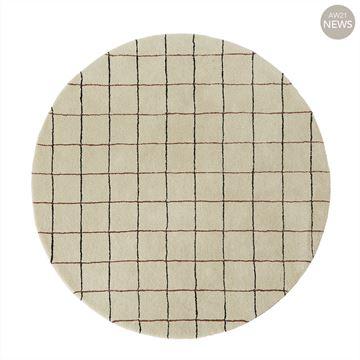 שטיח משבצות עגול