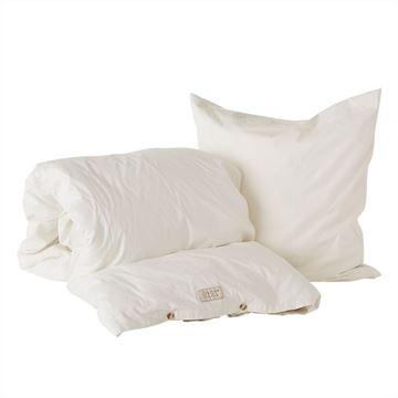 מצעים למיטה Nuku - לבן שבור